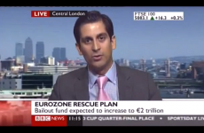 WATCH: BBC newsreader stunned as trader predicts wipe-out of savings