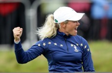 In the swing: Haas, Pettersen and the shots that dreams are made of