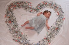 Lovely photo of baby girl surrounded by IVF syringes goes viral