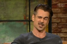 Colin Farrell confirmed that he is Ireland's soundest celebrity last night