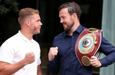 A new date has been set for Andy Lee's inaugural world title defence