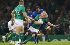 As it happened: Ireland v France, Rugby World Cup