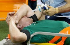 Triple injury blow for Ireland as Sexton, O'Connell and O'Mahony are forced off