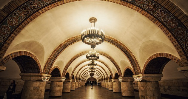 These are the 17 most beautiful metro stations around the world