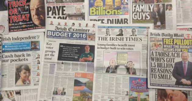 The Morning After: Here's what the papers made of Budget 2016