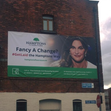 Dublin flooring company says Caitlyn Jenner ad is a 'celebration' of trans people