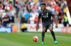 Joe Gomez out for the rest of the season after tearing his cruciate ligament