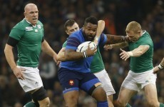 Bastareaud benched for France's big bash with All Blacks