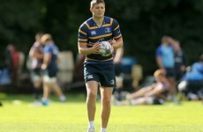 Ireland U20 star Ross Byrne will get his first Leinster start tomorrow night