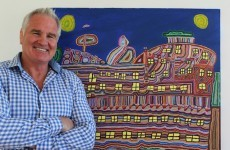 'What does your man know about art?': Brent Pope shows off his hidden passion