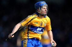 Podge Collins set to return for Clare hurlers -- reports