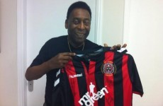 Here's how one of football's all-time greats ended up with a Bohemians jersey