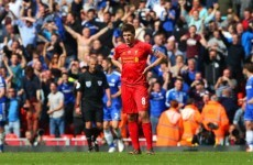 Gerrard reveals how Rodgers reacted to slip