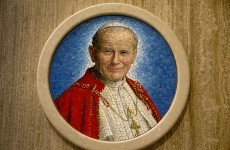 There is now a vial of John Paul II's blood in Poland's parliament