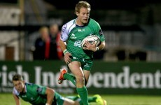 Connacht's impressive start to the season continued tonight despite an injury setback