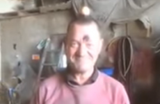 People are loving this man's reaction to a simple 'egg-balancing' prank