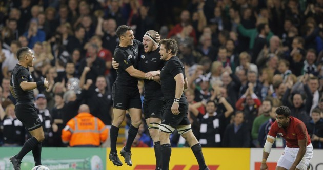 As it happened: New Zealand v France, Rugby World Cup quarter-final