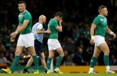 Ireland say they 'don't know' how long Johnny Sexton will be injured for