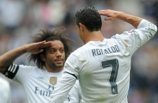 Cristiano Ronaldo secured another impressive landmark for Real Madrid today