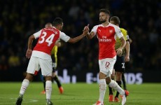 Arsenal overcome Watford to leapfrog United into second
