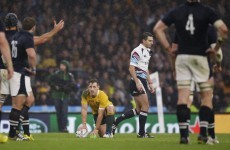 'If I see referee Craig Joubert again, I am going to tell him how disgusted I am'