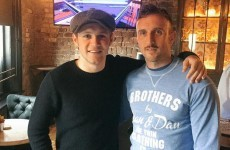 Niall Horan watched the rugby in the Kearney brothers' Dublin pub… it's the Dredge