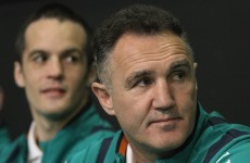 'This morning, I spent a lot of time crying' – Billy Walsh on his hardest-ever decision