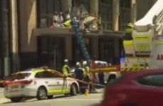 Window cleaners survive terrifying 12-storey fall from Sydney building