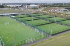 Spectacular drone video shows just how much the National Sports Campus has come along