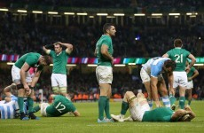 Peter Stringer: Ireland veered away from game plan under Argentinian pressure