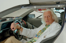 Doc Brown has a special message for all Back to the Future fans today