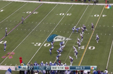 The Colts have finally explained what went on with one of the worst plays in NFL history