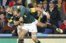 Same again for Springboks as they name side to face New Zealand