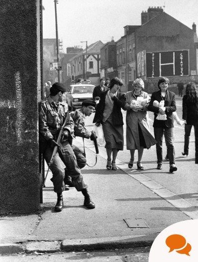 'I was an Irish-born soldier in the British Army during the Troubles. People just couldn't understand it'
