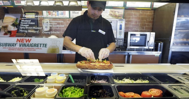 Subway settles lawsuit over foot-long sandwiches that measure less than 12 inches