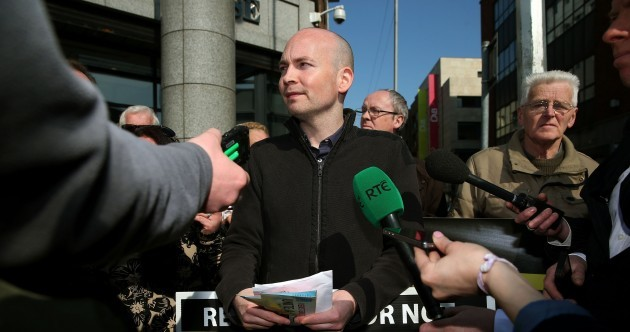 Paul Murphy won't stop talking about Irish Water – and it's working
