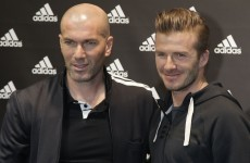 Beckham and Zidane name star-studded squads for their charity match at Old Trafford