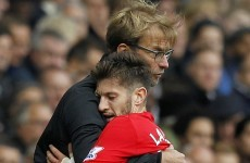 Klopp reaction 'over the top' as Lallana asks for new manager to given breathing room