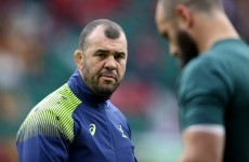 Michael Cheika says Australia expected to see Argentina get past Ireland