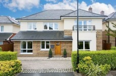 Suburban heaven calls with this detached house in Carrickmines