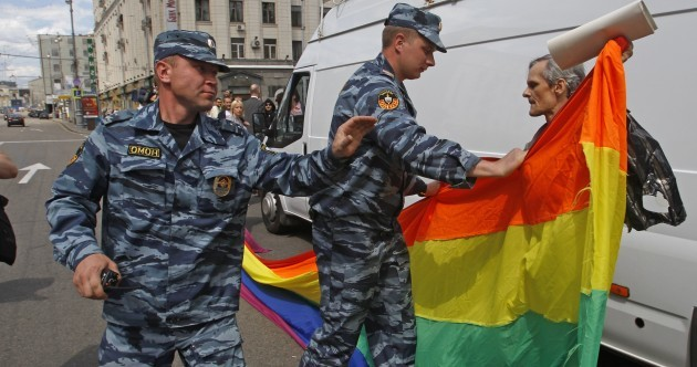"Russian politicians plan to outlaw coming out – but not for ""more reasonable"" lesbians"