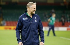 'I'm certainly not going anywhere' – Joe Schmidt on England job speculation
