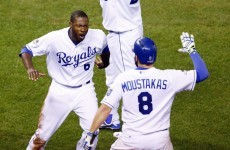 Controversial call helps Royals into second World Series in succession