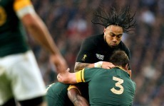 All Blacks pass brutal Springboks test to secure World Cup final spot