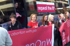 'We'll do whatever it takes to change this' -  Abortion pill bus arrives in Dublin