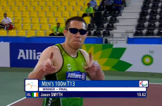 Jason Smyth made his latest 100m world title win look far too easy