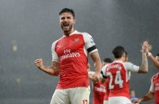 Arsenal are sitting top of the Premier League tonight after seeing off Everton