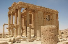 Islamic State ties three men to historic monuments, then blows them up