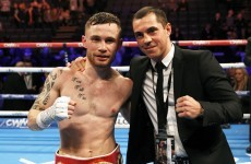 Scott Quigg's trainer says a Frampton world title fight is being 'finalised'