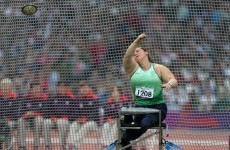 Orla Barry has won another medal for Ireland at the IPC World Championships